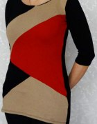 Tunika w geometryczne wzory