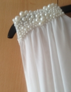 Piękna biała sukienka Jane Norman