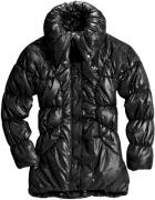 Czarna zimowa kurtka adidas z rekawiczkami xs