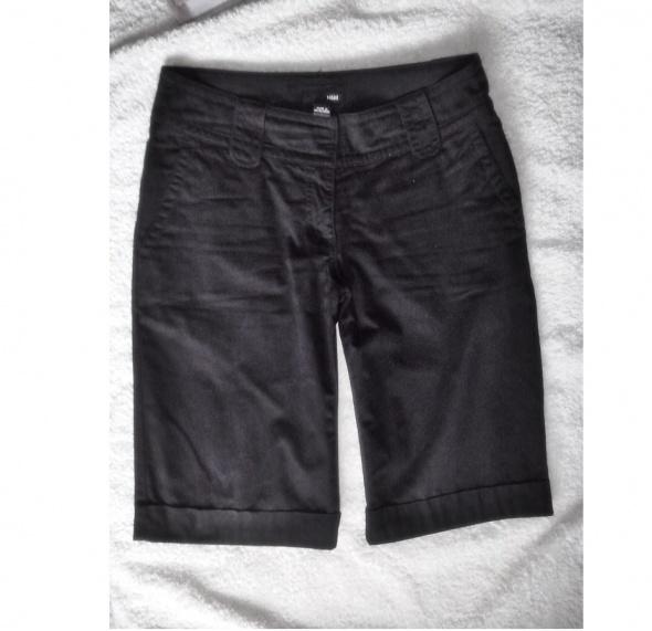 Spodenki bermudy H&M materiałowe eleganckie spodnie