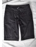 bermudy H&M materiałowe eleganckie spodnie