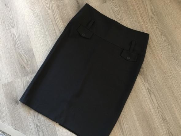 Spódnica czarna elegancka prosta ołówkowa 38 m w Spódnice