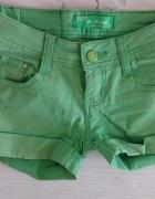Zielone spodenki