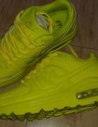 Nike air max 90 neonowe yellow oryginalne