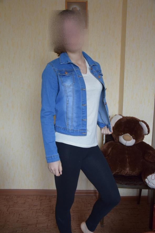 kurteczka jeansowa