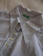 elegancka koszula w paseczki