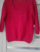 Czerwony sweterek TU 18