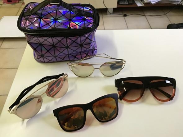aliexpress okulary modele kosmetyczka