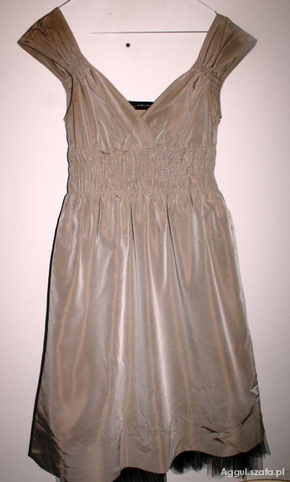 Suknie i sukienki Śliczna sukienka Zara rozmiar S