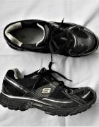 skechers tone up czarne buty sportowe 375 38