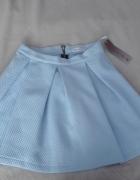 Spódnica rozkloszowana baby blue