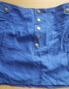 Nowa spodnica H&M niebieska sliczna
