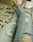 Spodnie dziurawce