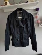 Czarna kurtka wiosenna H&M rozmiar S