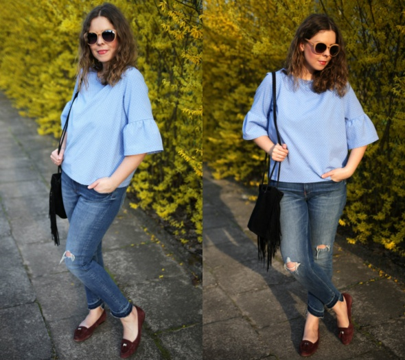 Blogerek baby blue