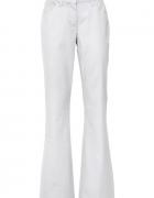 Nowe białe jeansy 44 46 elastyczne