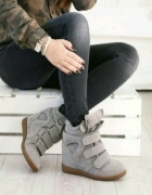 Nowe szare Sneakersy 39
