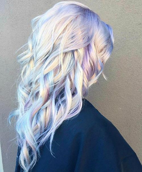Holograficzne włosy...