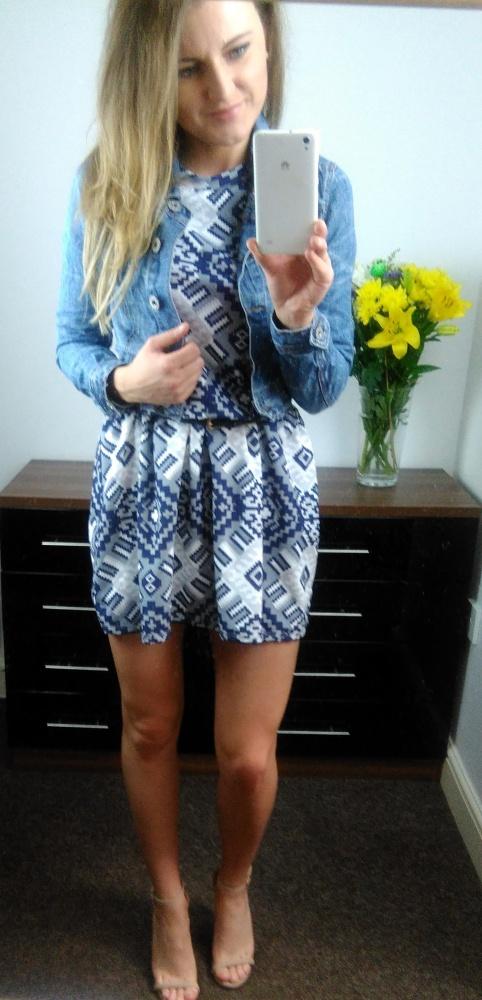 Codzienne Sukienka plus jeans