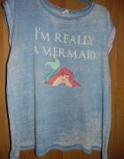 Bluzka Disney z nadrukiem 3 XL pasuje na 48 50 52
