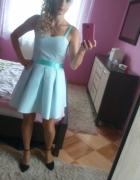 Miętowy sukienka 36