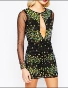 Amelia Rose bogato zdobiona sukienka jak sherii hi