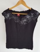 Czarna bluzeczka Ravel