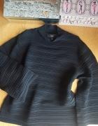 Bluzka sweterek z golfem NEXT 8