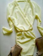 nowa sukienka cytrynowa pastele