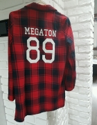 koszula w kratę mega ton 36