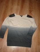 Odjazdowa bluzka ombre Forever 21 kolce...