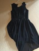 Sukienka z koronki i szyfonu Top Secret