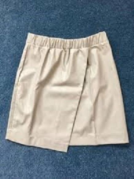 Spódnice OKAZJAskorzana spodnica asymetryczna topshop 34 36