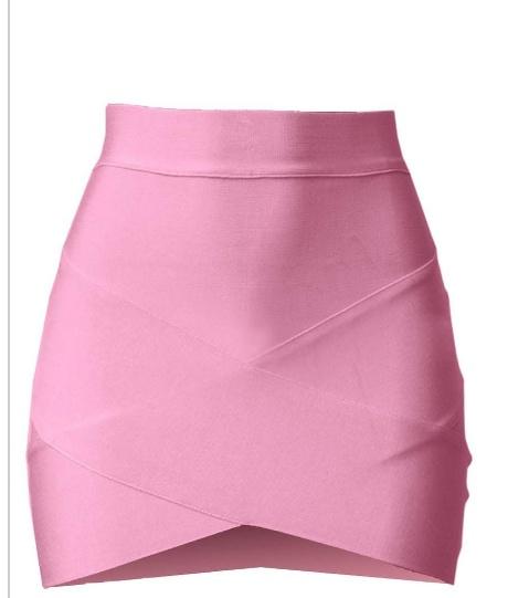 Kopertowa spodniczka mini...