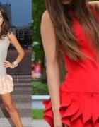 sukienka siwiec...