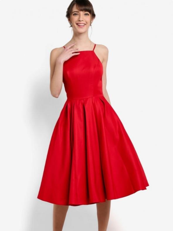 Ubrania Asos chi chi London sukienka z koła