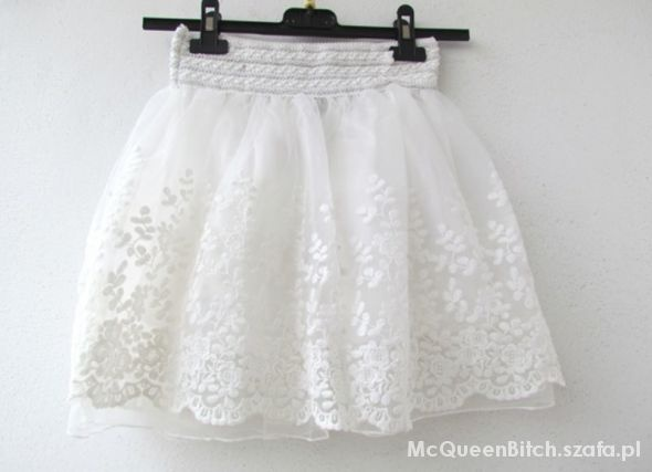 Ubrania Koronkowa spódniczka
