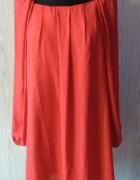 Ognista czerwień sukienka Cubus rozm 38 lub 40