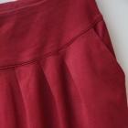 Carry bordowa spódnica dresowa kieszenie 36 38