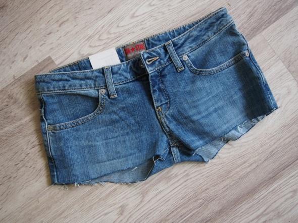 Spodenki Szorty spodenki jeansowe jeans big star sexi 34 36