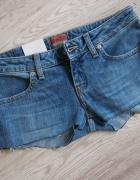 Szorty spodenki jeansowe jeans big star sexi 34 36