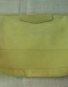 Duża kopertówka w kolorze limonkowym