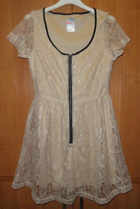 23a4dc7625d861 Sukienka koronkowa z suwakiem w Suknie i sukienki - Szafa.pl