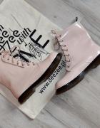 Botki Martens Style Beige Worker Boots DeeZee 40...