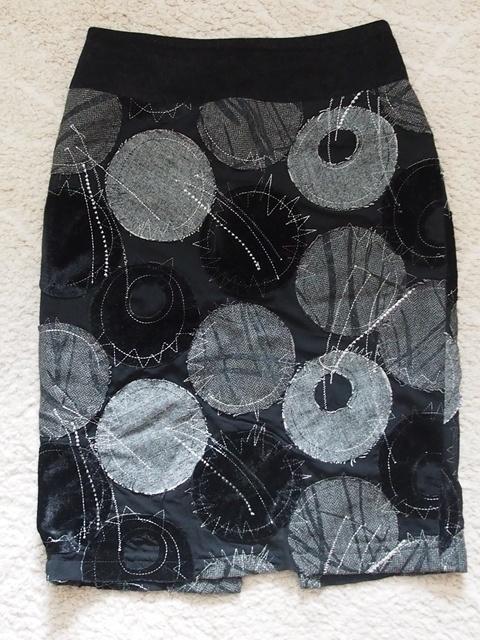 Spódnice Ciekawa elegancka ołówkowa spódnica