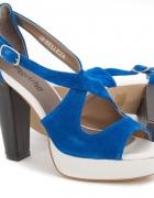 Kobaltowe sandały Marisha