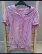 Różowa bluzeczka na gumce