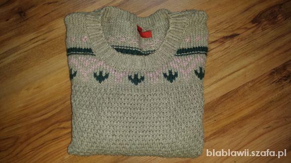 Swetry Sweterek norweskie wzory S Oliver