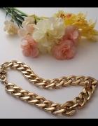 Naszyjnik łańcuszek łańcuch złoty