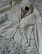 Amisu biały żakiet